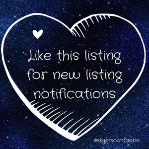 ✨💖Like This Listing for New Listing Notifications